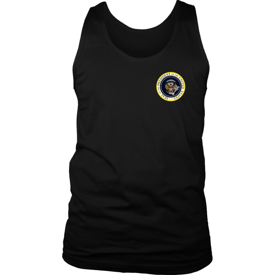 Things I trust more than Donald Trump TaTrump Parody Fake Presidential Seal 45 Puppet Russian Eagle Anti Trump T-shirt Shirt