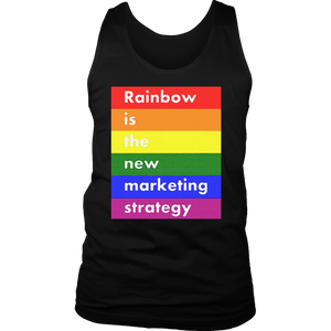 LGBT rainbow is the new marketing strategy t shirt