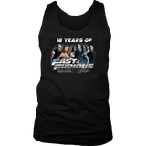 18 Years Of Fast And Furious T-Shirt