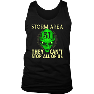 Storm Area 51 Shirt They Can't Stop US All Gift T-Shirt