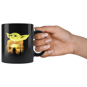 Baby Yoda CUte mug The Mandalorian