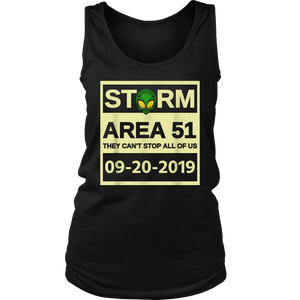 Storm Area 51 They Can't Stop All Of Us T-Shirt