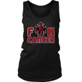 Fuck Cancer Fight It Like Deadpool Shirts