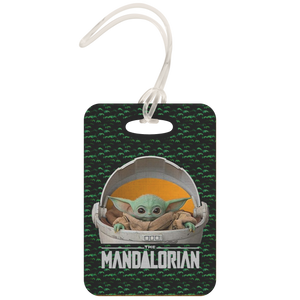 Baby Yoda Luggage Tag