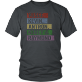 Yusef, Kevin, Antron, Korey, Raymond Tshirt For Men Women