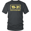 19-31 Stay in Fight Washington Baseball Series National W T-Shirt