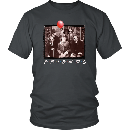 Friends Horror Movie Creepy Halloween Shirt Gift