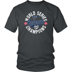 2019-World Series-Nationals-Champions Fight Finish T-Shirt
