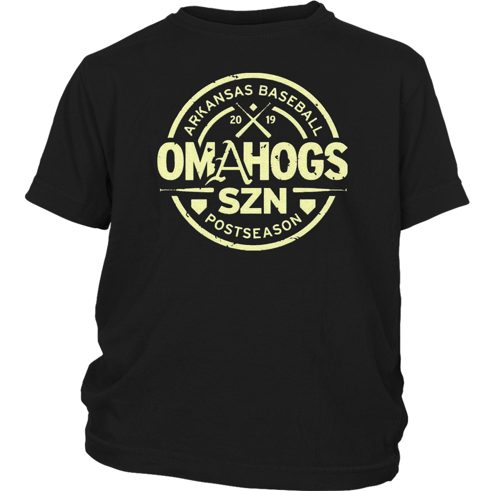 OmaHogs SZN Arkansas Baseball 2019 T-Shirt