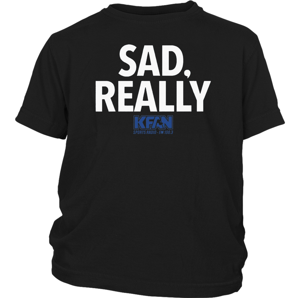 2019 KFAN State Fair Sad Really TShirt
