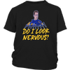 DO I LOOK NERVOUS SHIRT Jordan Binnington - St. Louis Blues Shirt