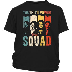 Truth To Power Squad AOC Tlaib Ilhan Ayanna Vintage T-Shirt