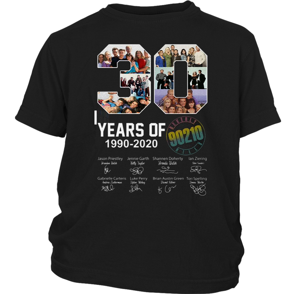 30 Years Of Beverly Hills 90210 - 1990 - 2020 Signature T-Shirt