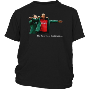 Tiger Woods Crenshaw The Marathon Continues Ladies-T-Shirt – Gardeniateelive