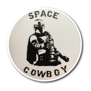 Space Cowboy Mandalorian Sticker- The Mandalorian