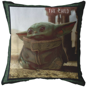 The Mandalorian The Child Cute Scene Pillow