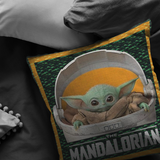Baby Yoda Pillow The Mandalorian Pillow