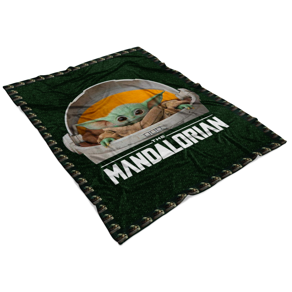 Star Wars The Mandalorian The Child Floating Pod Quilt