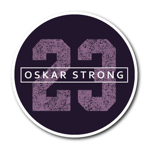 Oskar Strong 23 Sticker Oskar Lindblom Sticker