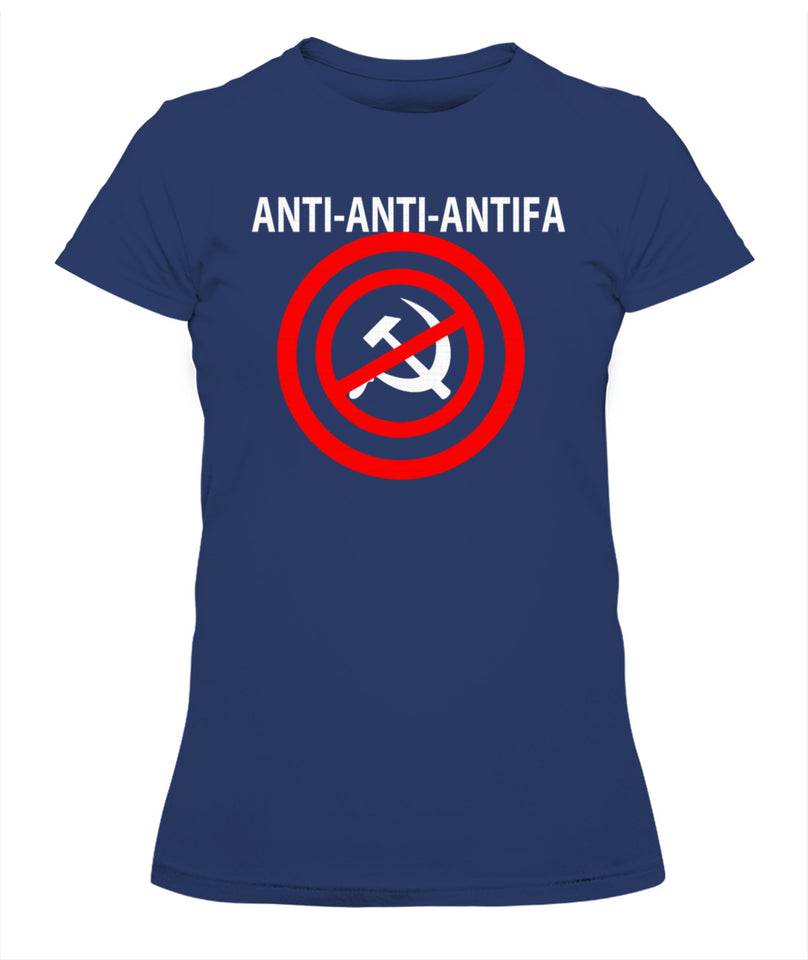 anti anti antifa tee-shirt