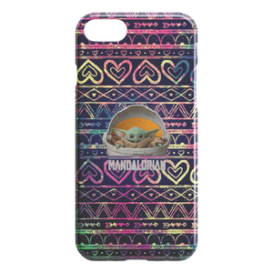 Star Wars The Mandalorian The Child Floating Pod Galaxy iPhone Case