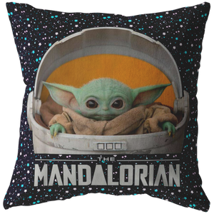 Baby Yoda Pillow Stars Tumblr