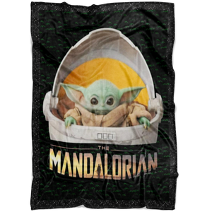 The Madalorian Baby Yoda Quilt, Funny Gift for him