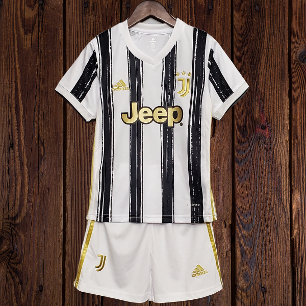 Juventus Home Kids Kit With Socks 20 21