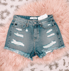 KanCan Distressed Shorts - This & That Boutique Shop