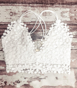 White Bralette - This & That Boutique Shop