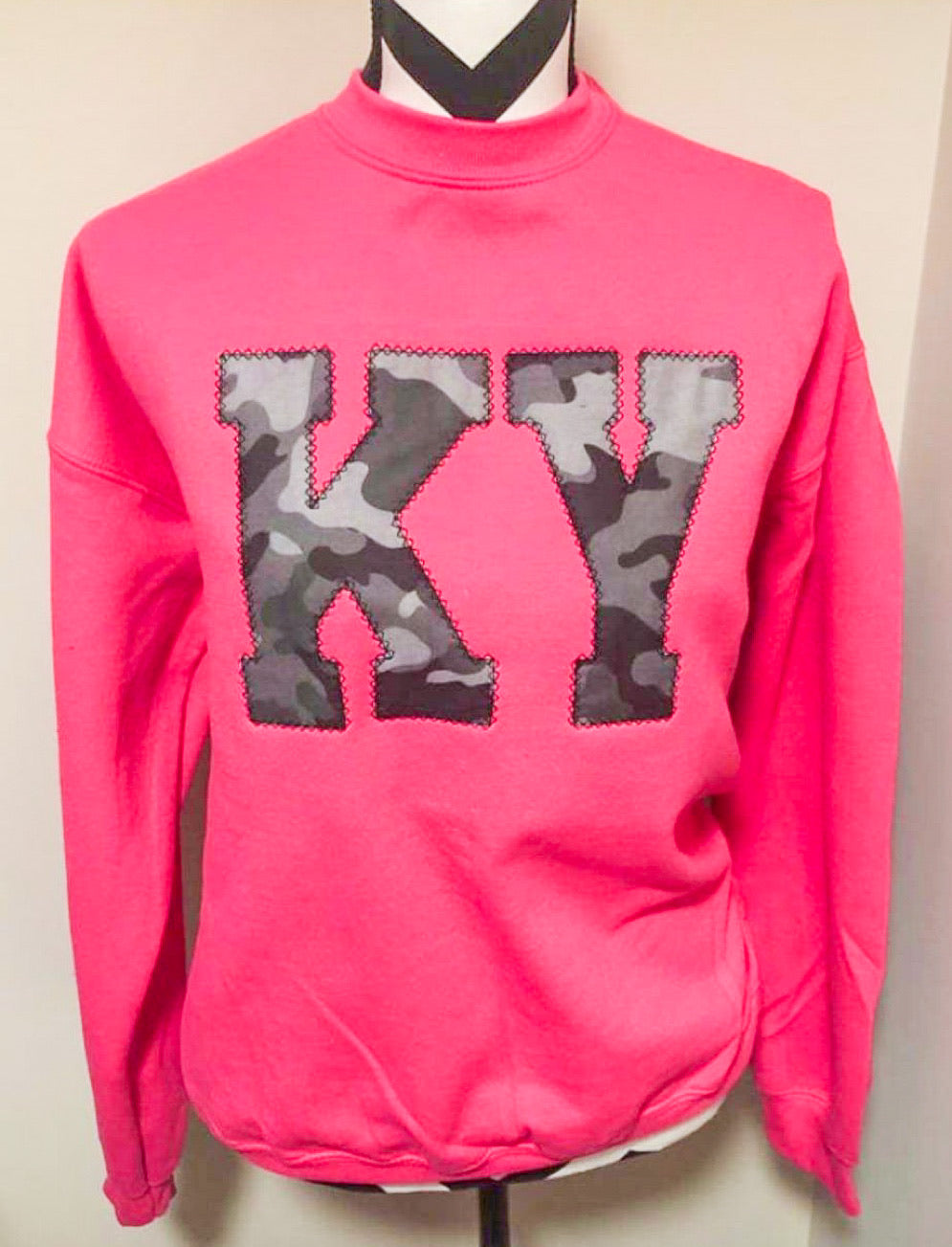 Pink State Sweatshirt (ANY STATE AVAILABLE) (PRE-ORDER) - This & That Boutique Shop