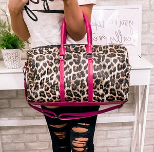 Camo Or Leopard Weekender Bags - This & That Boutique Shop
