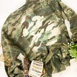 Bleached Camo Sweater - This & That Boutique Shop