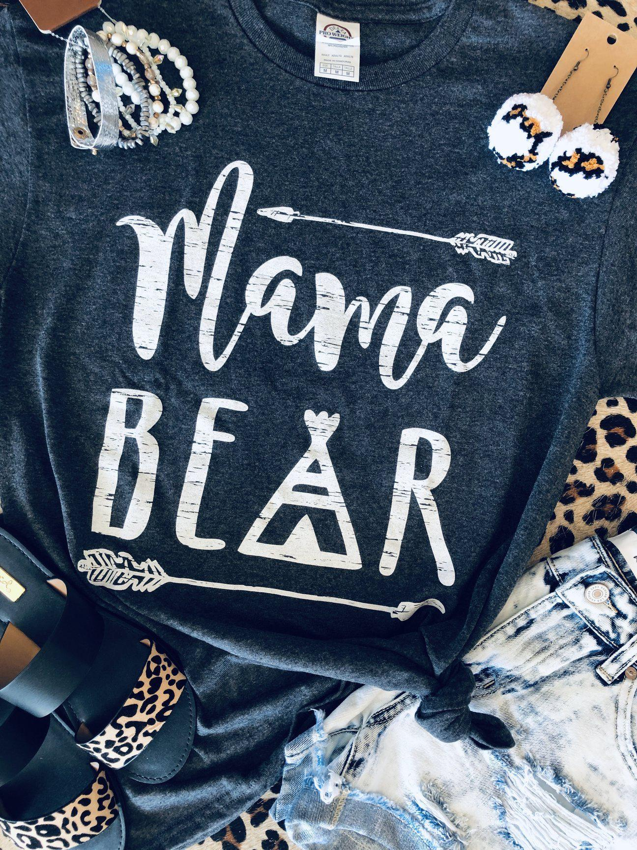 Mama Bear Tee (PRE-ORDER) - This & That Boutique Shop