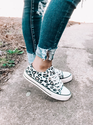 Leopard Sneakers - This & That Boutique Shop