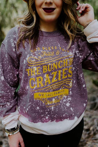 The Bunch Of Crazies Bleached Sweater - This & That Boutique Shop