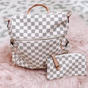 White Backpack Set - This & That Boutique Shop