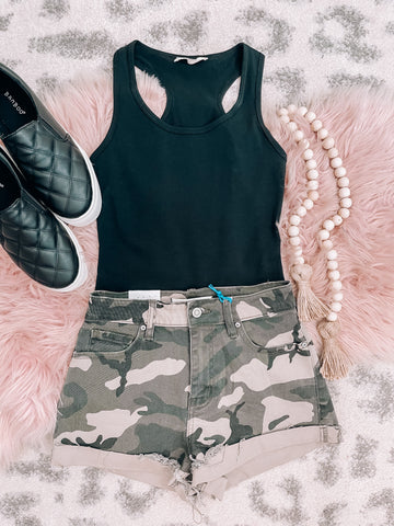 Camouflage Shorts - This & That Boutique Shop