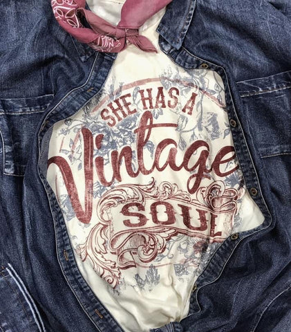 Natural Vintage Soul Tee - This & That Boutique Shop
