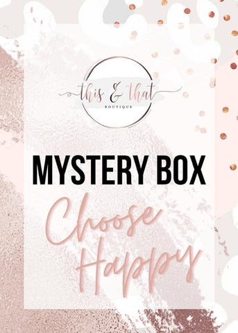 This & That Mystery Box (SHIPS FREE)(Ships 1/30) - This & That Boutique Shop