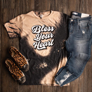 Bless Your Heart Tee - This & That Boutique Shop