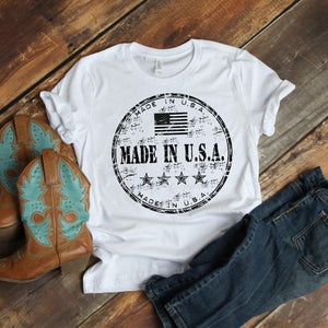 Made In USA Tee (PRE-ORDER) - This & That Boutique Shop