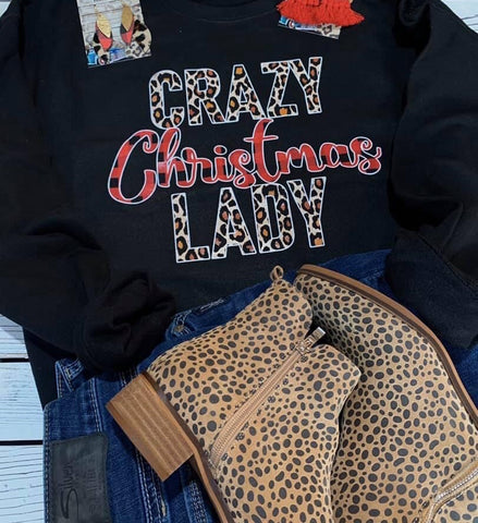 Crazy Christmas Lady - This & That Boutique Shop