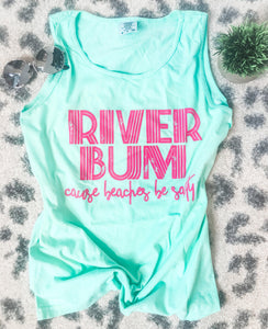 Seafoam River Bum Tank (PRE-ORDER) - This & That Boutique Shop