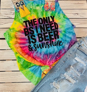 Sunshine Tye Dye Tank - This & That Boutique Shop