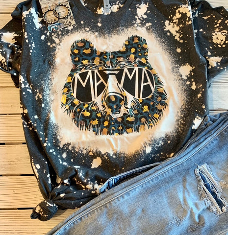 Bleached Mama Tee - This & That Boutique Shop