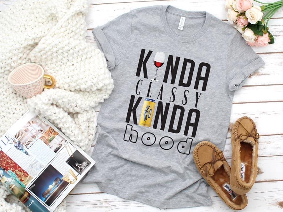 Kinda Classy Kinda Hood Tee - This & That Boutique Shop