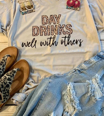 Day Drinks With Others Tee - This & That Boutique Shop