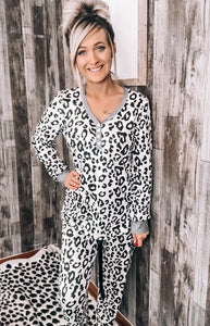 Leopard PJ Set - This & That Boutique Shop