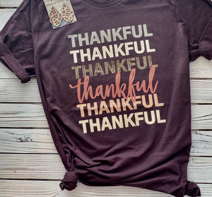 Thankful Tee (PRE-ORDER) - This & That Boutique Shop
